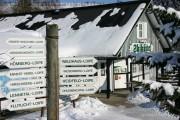 Skihütte in Westfeld