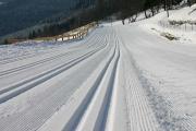 Snowpark im Skilanglaufzentrum